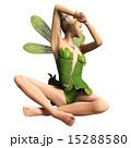 脇を見せる妖精 フェアリー 3DCGイラスト素材 15288580