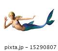 マーメイド 人魚 手を振るのイラスト 15290807