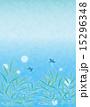背景素材タテ-夏,水辺,鳥 15296348