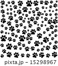 dog footprint over white background vector illustration 15298967