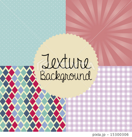 texture design over different backgrounds vector illustrationのイラスト素材 [15300306] - PIXTA