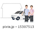 訪問診療 Home medical care concept 15307513