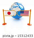 アメリカ こっき 国旗のイラスト 15312433