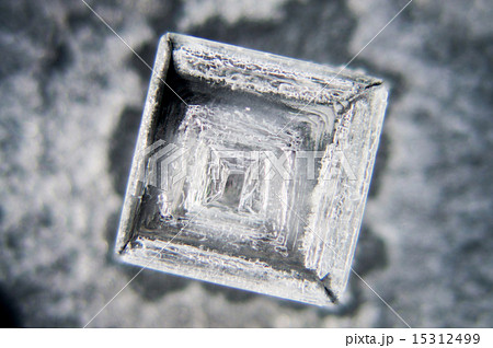 塩の結晶(顕微鏡写真) 15312499