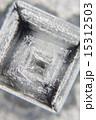 顕微鏡写真 結晶 塩の写真 15312503