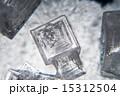 顕微鏡写真 結晶 塩の写真 15312504
