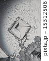 顕微鏡写真 結晶 塩の写真 15312506