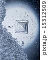 顕微鏡写真 結晶 塩の写真 15312509