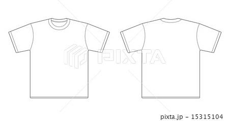 Tシャツのイラスト素材 15315104 Pixta