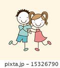 キッズ 子供 描くのイラスト 15326790