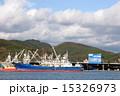 石巻漁港 漁船 海の写真 15326973