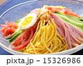 冷やし中華 冷麺 麺料理の写真 15326986