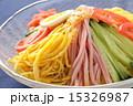 冷やし中華 冷麺 麺料理の写真 15326987