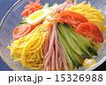 冷やし中華 冷麺 麺料理の写真 15326988