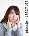 人物 女性 顔の写真 15327155
