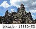 カンボジア アンコールワット 遺跡の写真 15330453