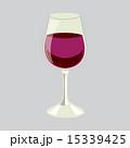 ぶどう酒 ワイン 葡萄酒のイラスト 15339425