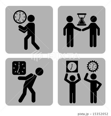 time design over white background vector illustrationのイラスト素材 [15352052] - PIXTA
