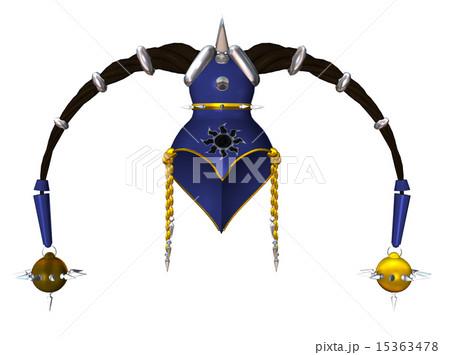 Blue Gold Headdressのイラスト素材 [15363478] - PIXTA