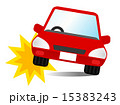 赤い車事故 15383243