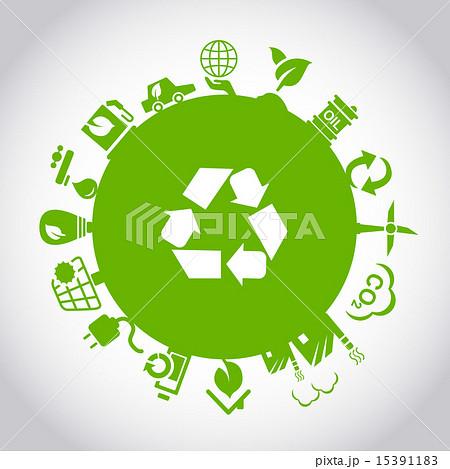 Green environment ECO concept 15391183