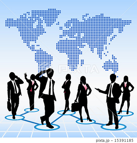 Global human resources concept 15391185