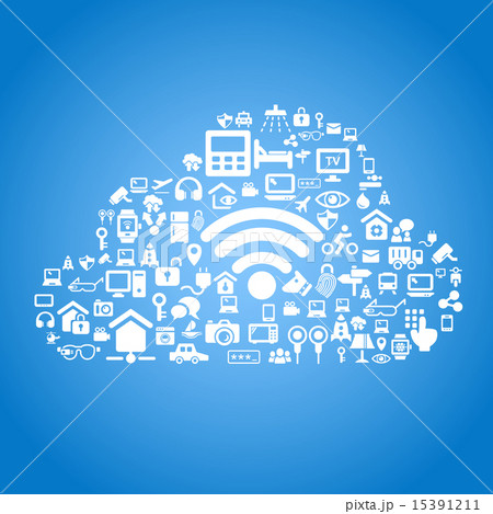 Internet of things concept 15391211