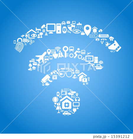 Internet of things concept 15391212