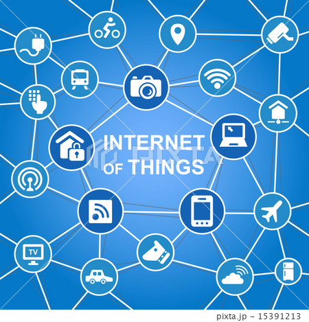 Internet of things concept 15391213