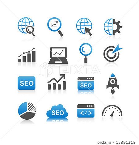 SEO icon set 15391218