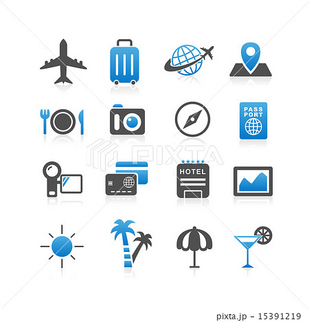 Travel icon set 15391219