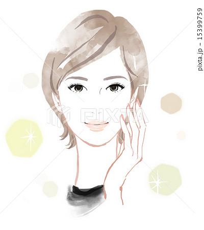 美しい女性のイメージ 15399759
