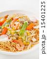 皿うどん 長崎名物 揚げ麺の写真 15401225