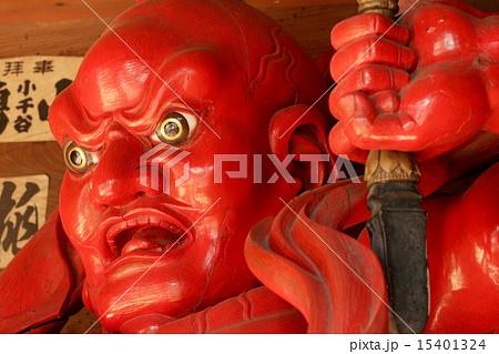 千葉県千葉寺の仁王像(阿形) 15401324