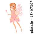 beautiful fairy vector graphic 15407397