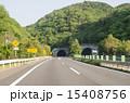 高速道路 自動車道 道の写真 15408756