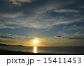 淡路島 夕日 15411453