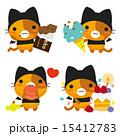 ネコ ベクター ネコとーくのイラスト 15412783