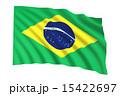 ブラジル国旗 15422697