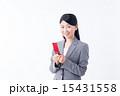 ビジネスウーマン(ガラケー) 15431558