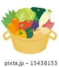 野菜11種のかご 15438153