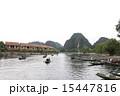 ベトナム 船乗り場 タムコックの写真 15447816