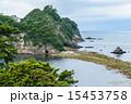 トンボロ現象 三四郎島 伊豆の写真 15453758