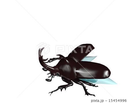 飛び立つカブト虫 15454996