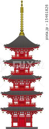15461826 pixta for Case tradizionali giapponesi