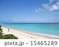 ニシ浜 波照間島 沖縄の写真 15465289