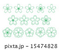 和桜素材緑 15474828