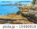 浸食 南紀白浜 岩の写真 15480918
