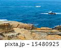浸食 南紀白浜 岩の写真 15480925
