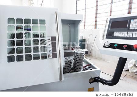 Industrial machine and control panelの写真素材 [15489862] - PIXTA